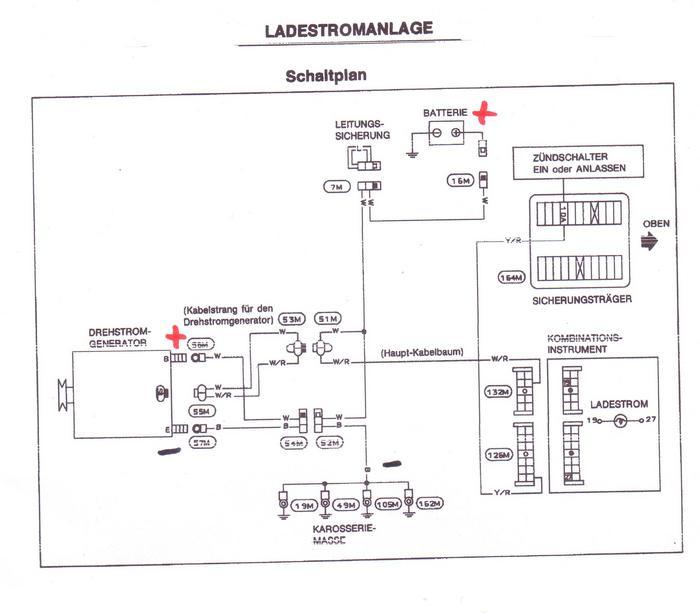 das offroad forum lichtmaschinen problem patrol gr y60. Black Bedroom Furniture Sets. Home Design Ideas