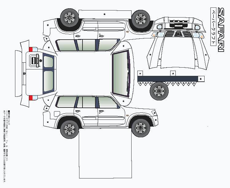 Ausmalbilder Jeep Calendar June